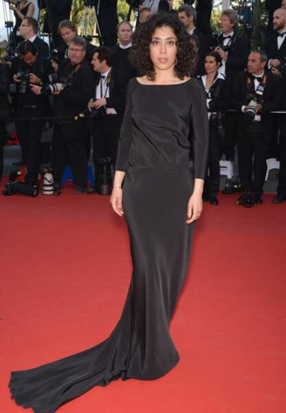 Naidra Ayadi ravissante dans sa robe Delphine Manivet