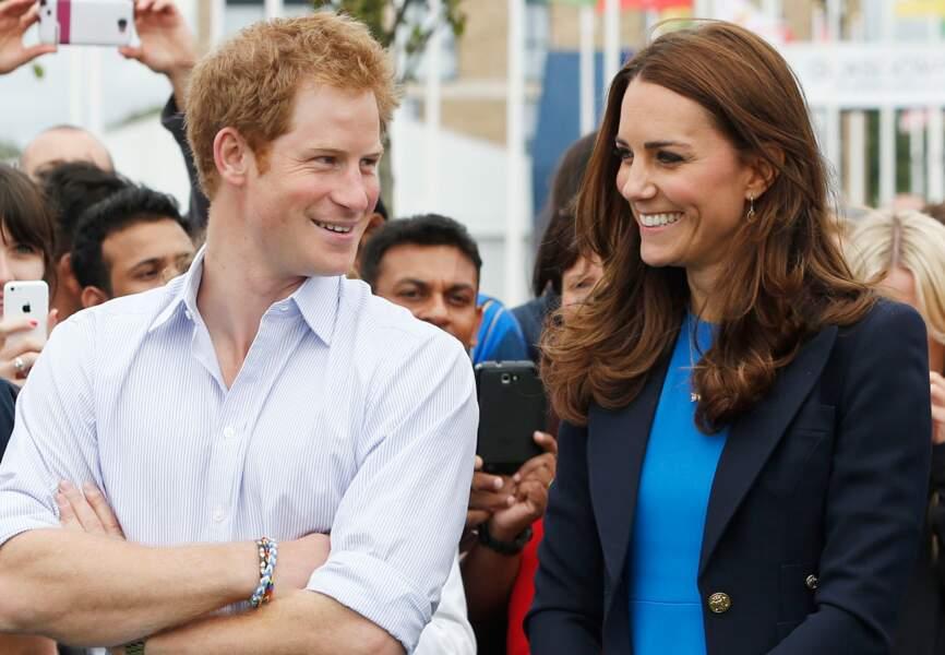 Harry et Kate complices aux Jeux du Commonwealth, le 29 juillet dernier