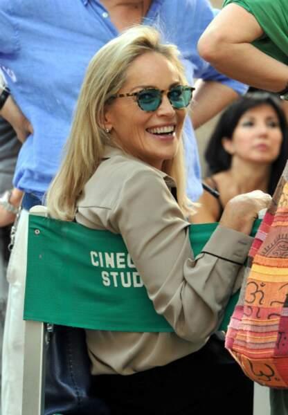 Sharon Stone et le réalisateur Pupi Avati
