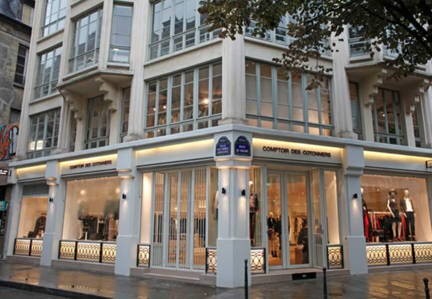 La nouvelle boutique comptoir des cotonniers