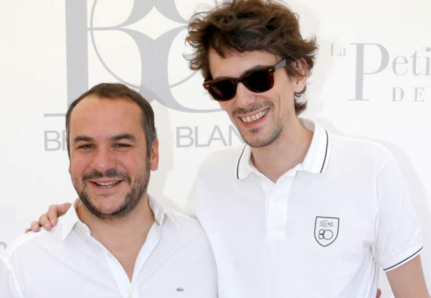 Le réalisteur Hugo Gélin et l'acteur François-Xavier Demaison
