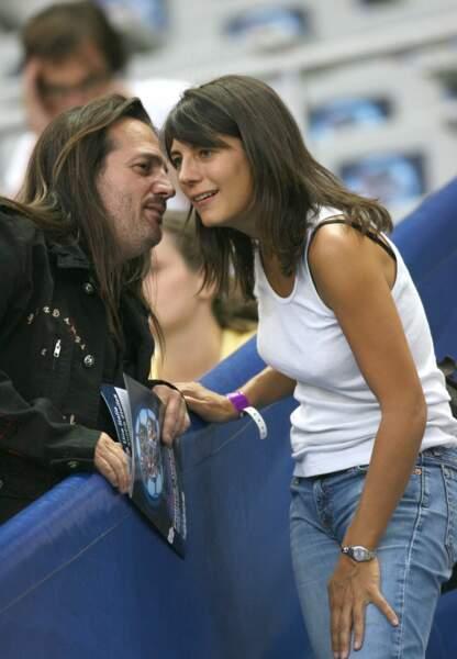 Estelle Denis et Francis Lalanne au Stade de France en 2006