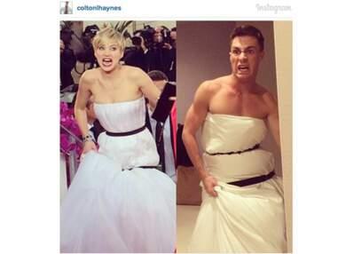 La robe de Jennifer Lawrence aux Golden Globes provoque la moquerie