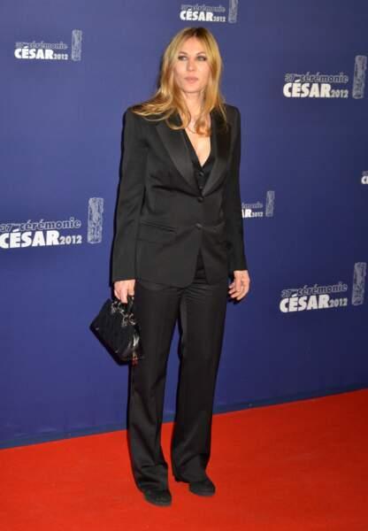 Mathilde Seigner aux César en 2012