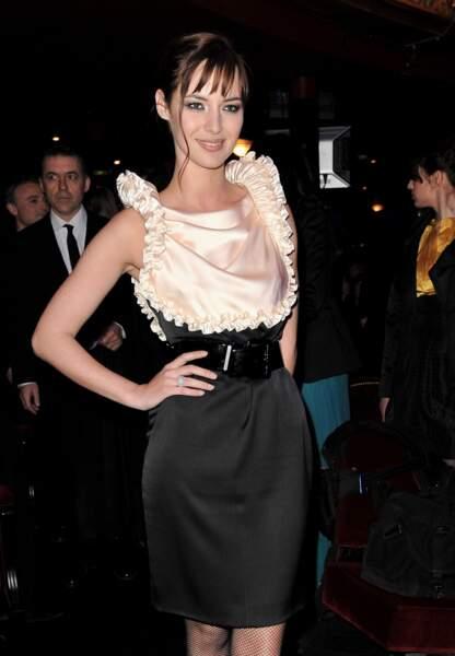 Louise Bourgoin au théâtre du Châtelet en 2009 pour les César