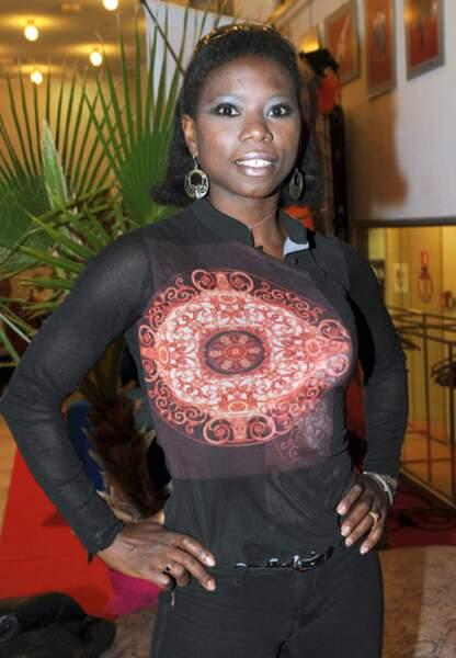 Surya Bonaly participe au festival Les Herault de la Télé en 2010