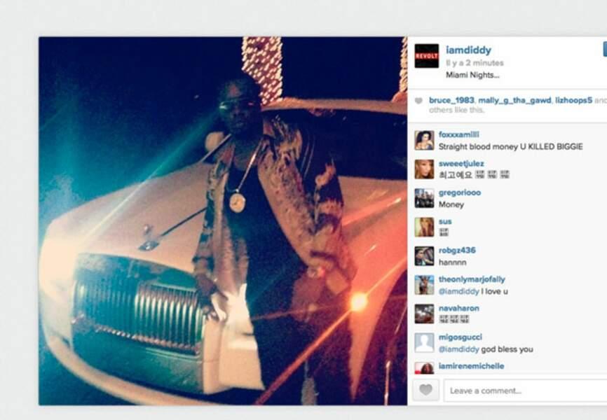 P Diddy fait la fête au Art Basel de Miami
