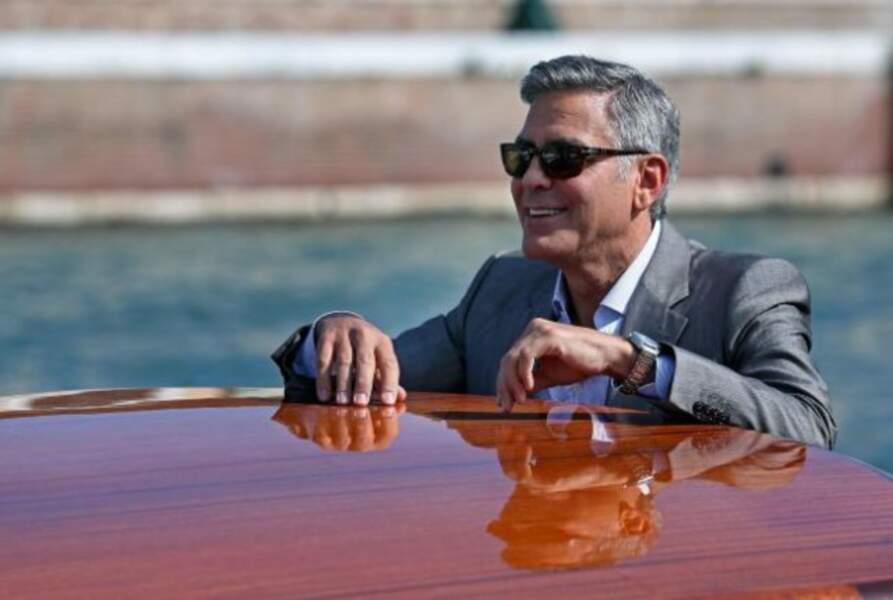 Demain, George Clooney sera un homme marié. Il exulte
