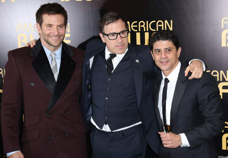 Bradley Cooper, David O. Russell et Said Taghmaoui