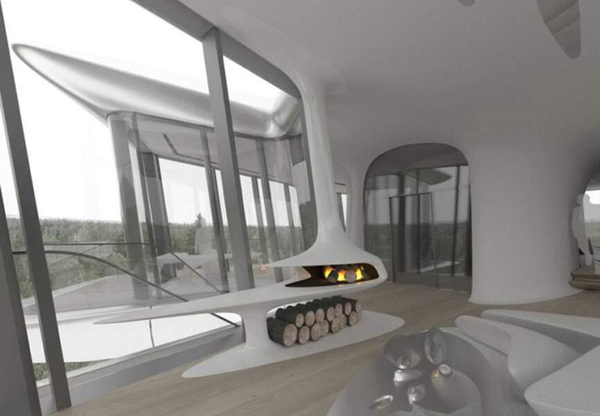 La villa de Naomi Campbell sous forme de vaisseau spatial lui a été offerte par son ex, Vladislav Doronin