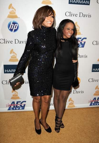 En février 2011, un an avant la mort de Whitney Houston