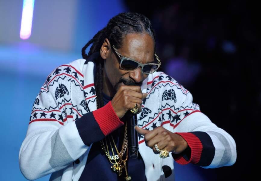 Snoop Dogg au défilé Etam
