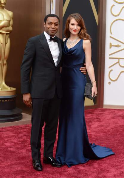 Le héros de 12 Years a Slave, Chiwetel Ejiofo et sa compagne Sari Mercer