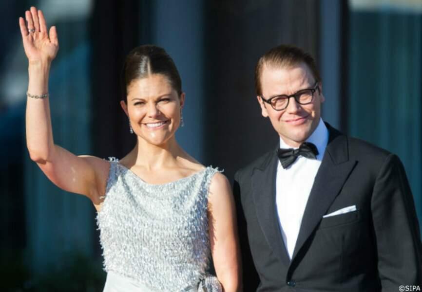 Victoria et Daniel de Suède