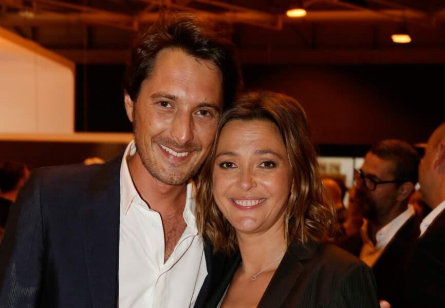 Vincent Cerutti et Sandrine Quétier