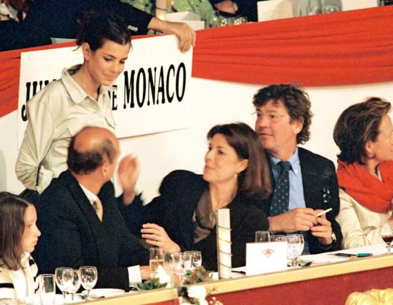 26 avril 2001 - Charlotte au Jumping International de Monte-Carlo