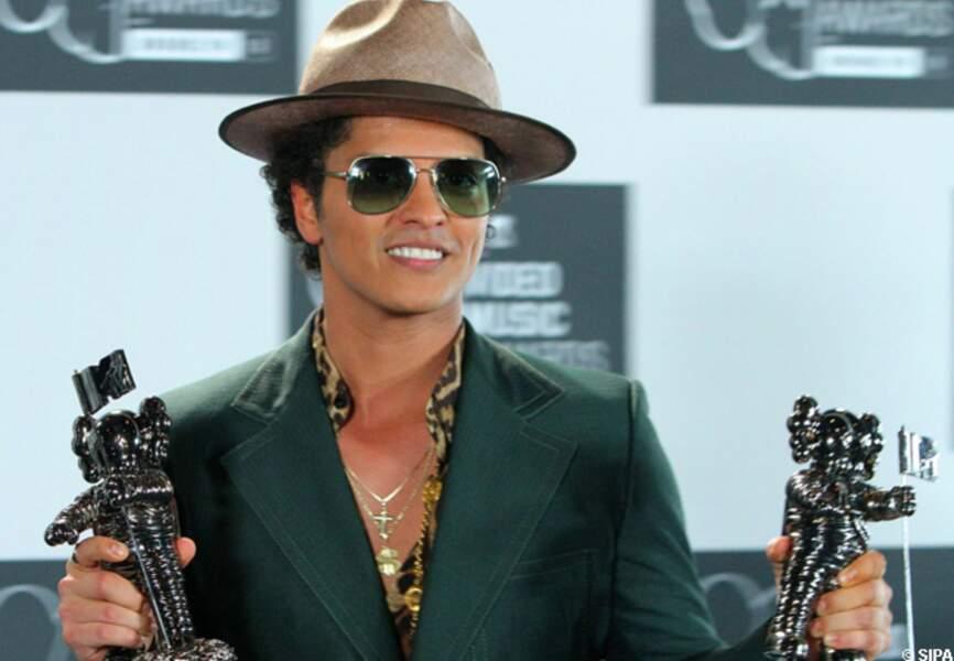 Bruno Mars doublement récompensé