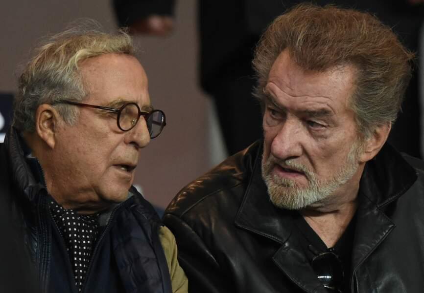 Daniel Hechter et Eddy Mitchell