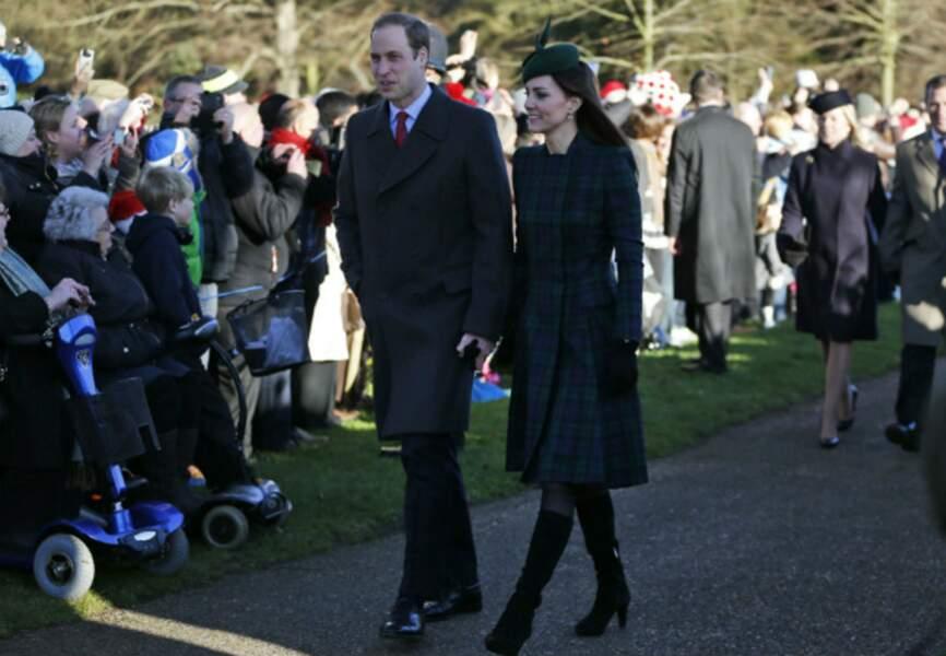 Les parents du prince George sont toujours aussi complices