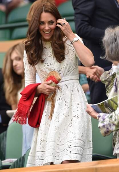 La princesse portait pour la seconde fois sa robe Zimmerman