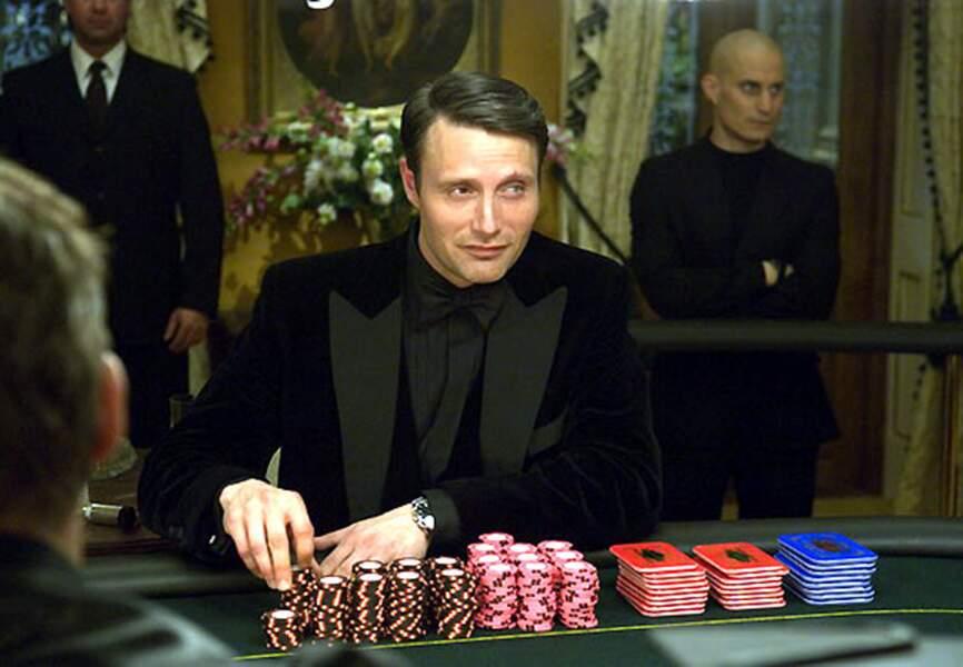 """Le rôle qui a assis sa notériété internationale. Le Chiffre dans """"Casino Royal"""""""