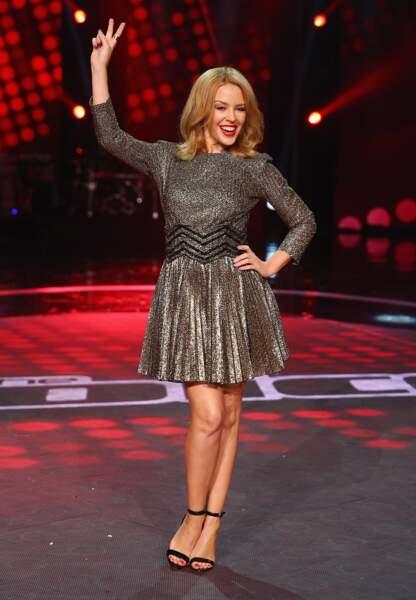 Kylie Minogue en Blumarine