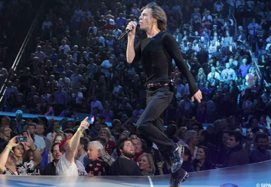 Mick Jagger en concert