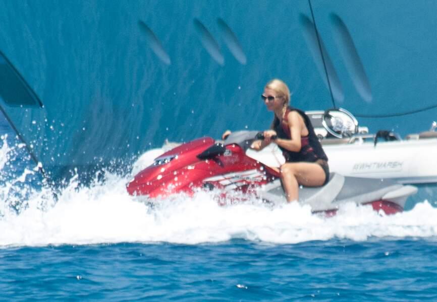 Paris Hilton à Ibiza