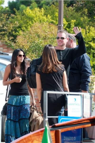 Ils sont rejoints par Matt Damon