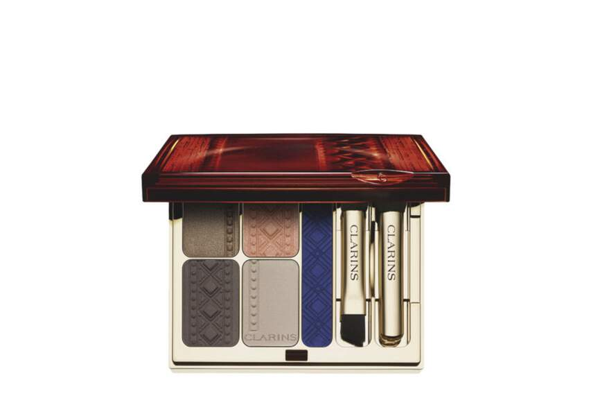 Palette yeux Ombres et liner, Colour of Brazil, Clarins, 45,50€