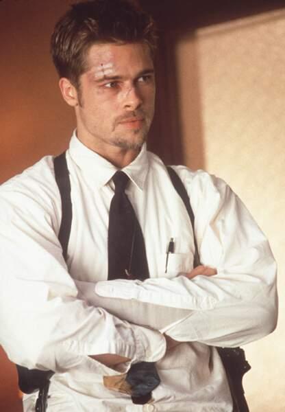 Brad Pitt dans Seven en 1995