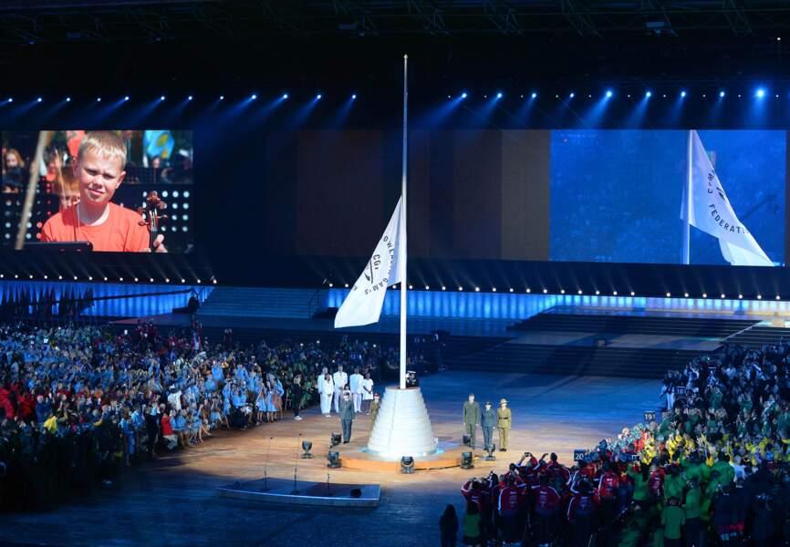 Cérémonie d'ouverture des Commonwealth Games 2014