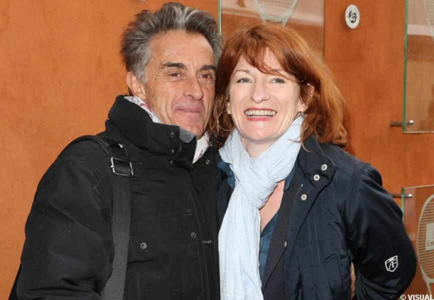Gérard Holtz et sa femme Muriel