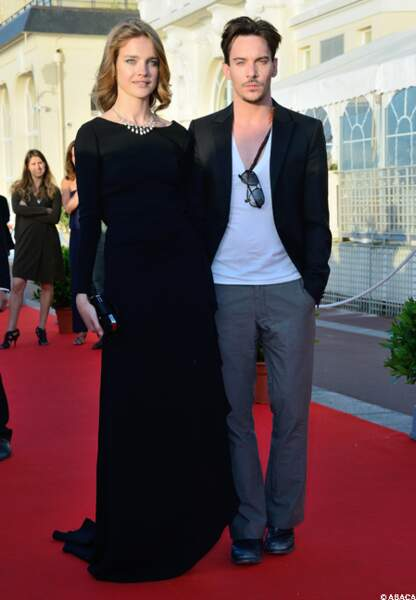 Natalia Vodianova et Jonathan Rhys Meyer
