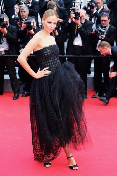 Natasha Poly en Oscar de la Renta