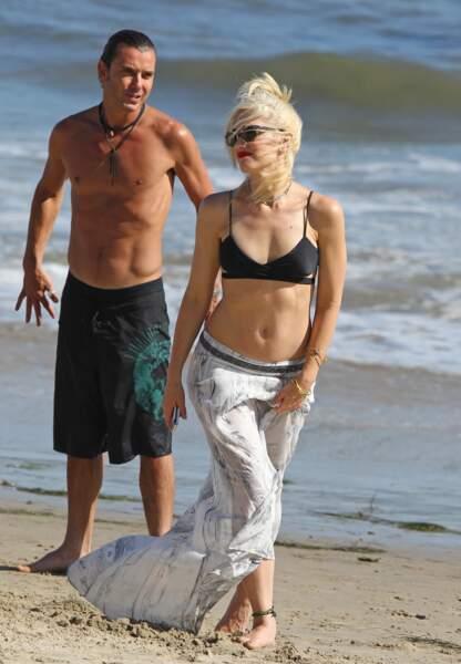 En 2011, Gwen Stefani prenait déjà ses distances (à la plage) avec Gavin Rossdale