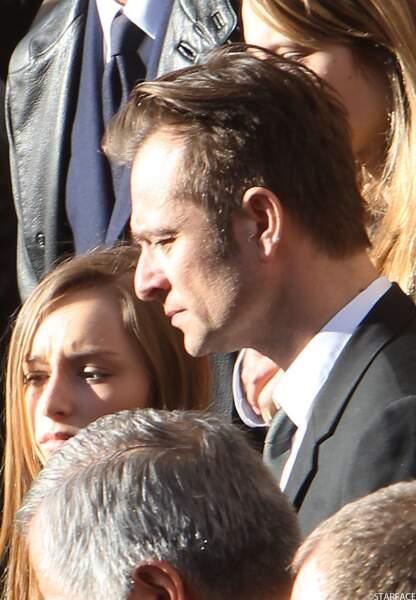 David Hallyday, mari d'Alexandra Pastor, et sa fille Ilona