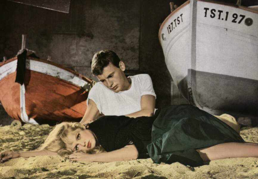 Et Dieu créa la femme de Roger Vadim, avec Brigitte Bardot, 1956