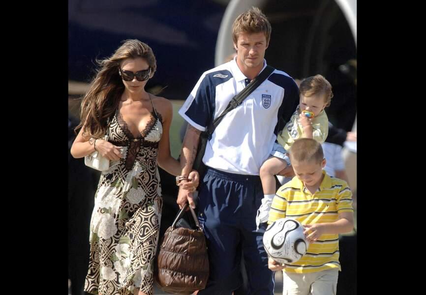 L'image d'une famille soudée en vacances en 2006