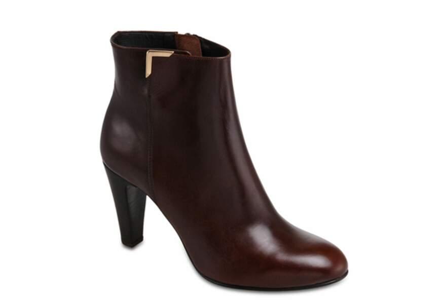 Jonak – Boots zippées en cuir – 129€