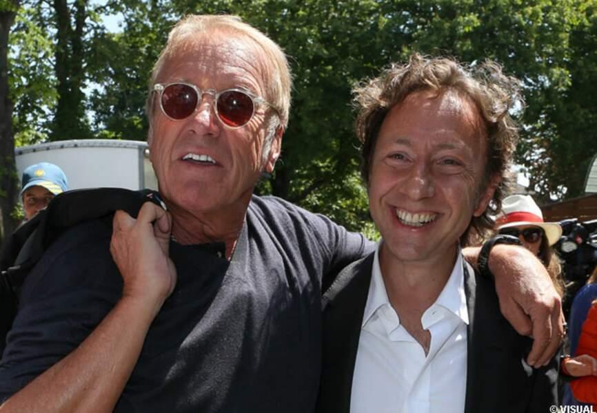 Yves Rénier et Stéphane bern