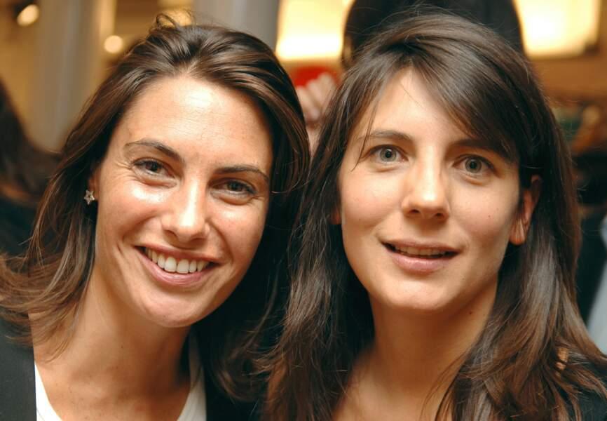 Estelle Denis et Alessandra Sublet en 2007