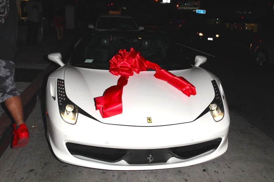 La fameuse Ferrari