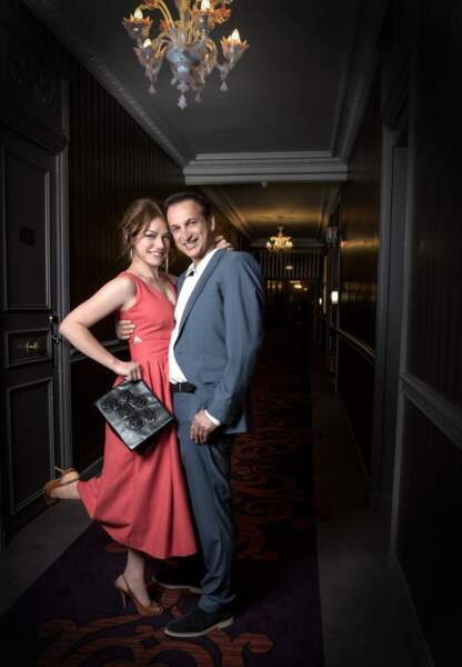 Emilie Dequenne et son futur mari Michel Ferracci