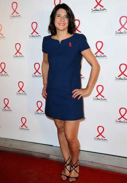 Estelle Denis lors du Sidaction en 2014
