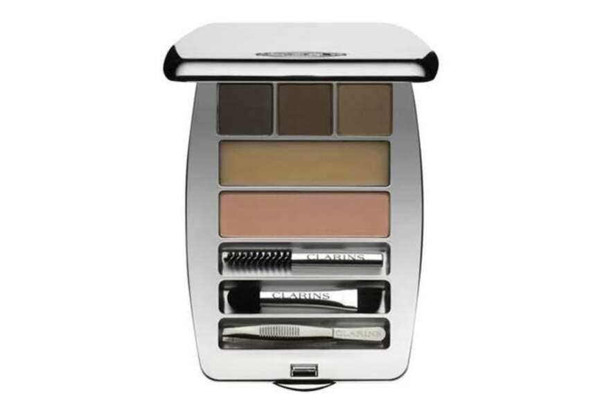 Clarins - Kit Sourcils Palette Pro – 42,90€