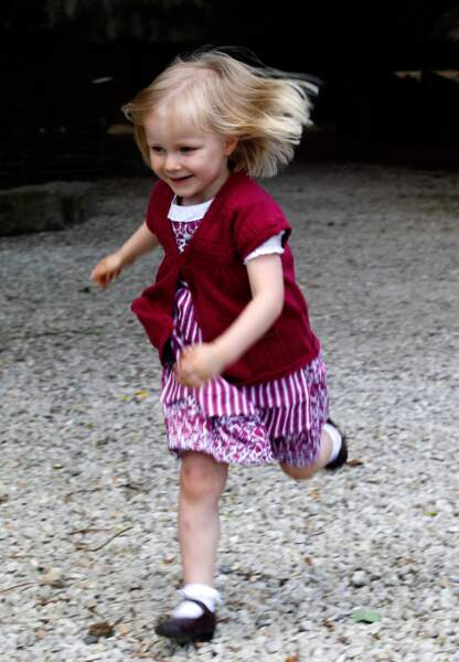 Eleonore de Belgique (née le 16 avril 2008)