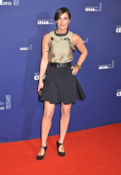 Zoe Felix aux César en 2012
