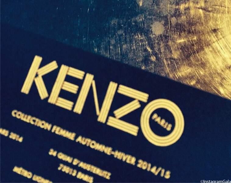 On vous emmène chez Kenzo ?