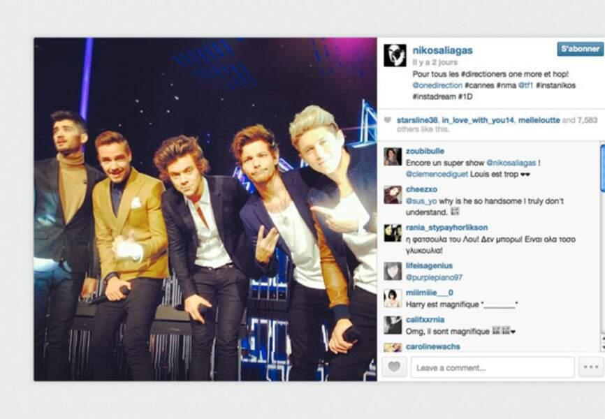 Les One Direction élus groupe international de l'année et lauréats du trophée du clip de l'année pr Best Song Ever